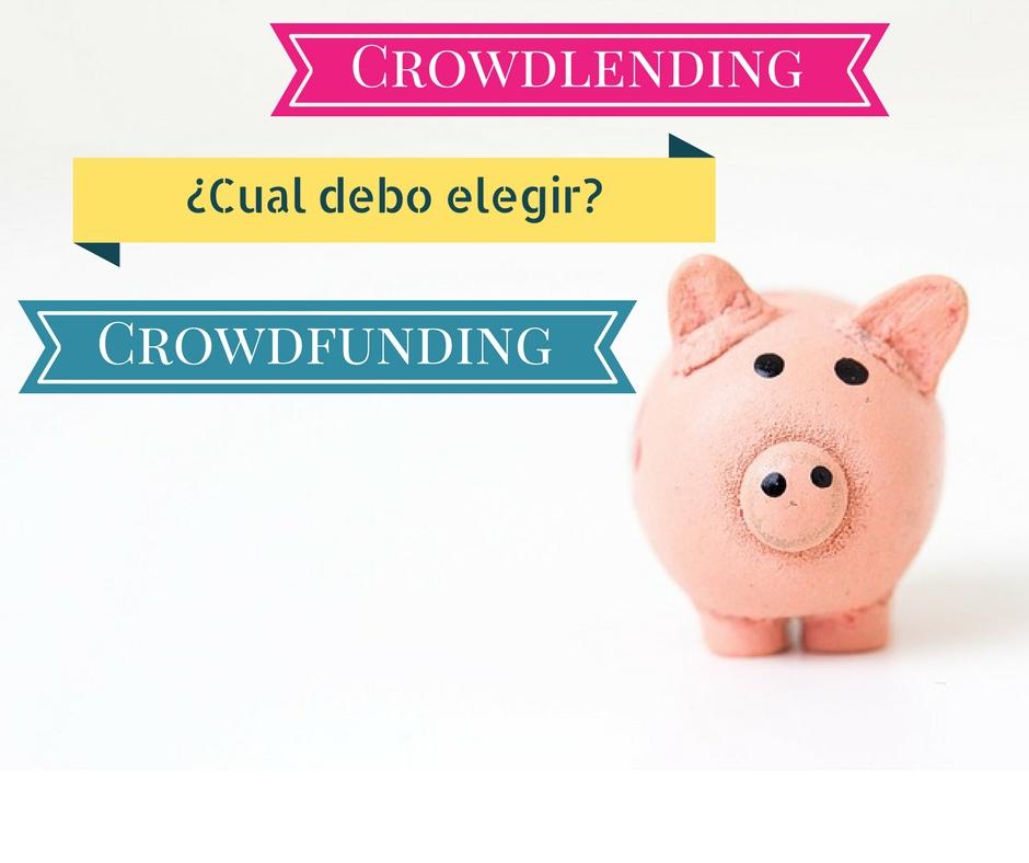 crowdlending o crowdfunding