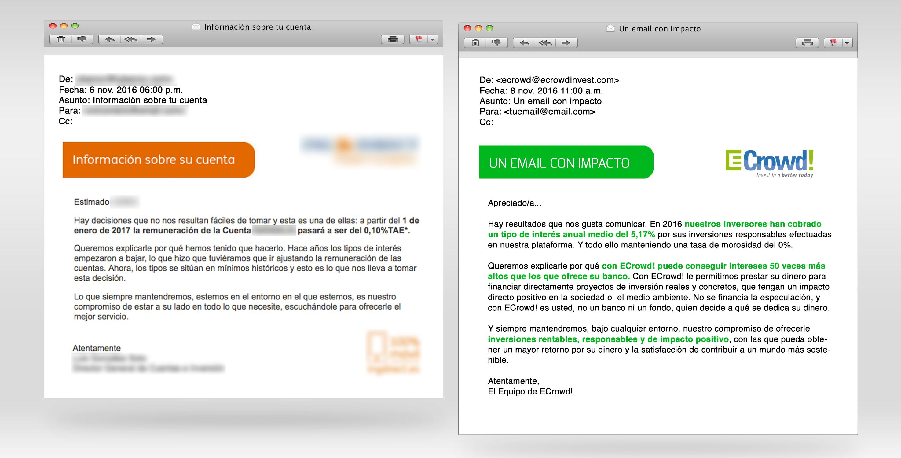 un email con impacto