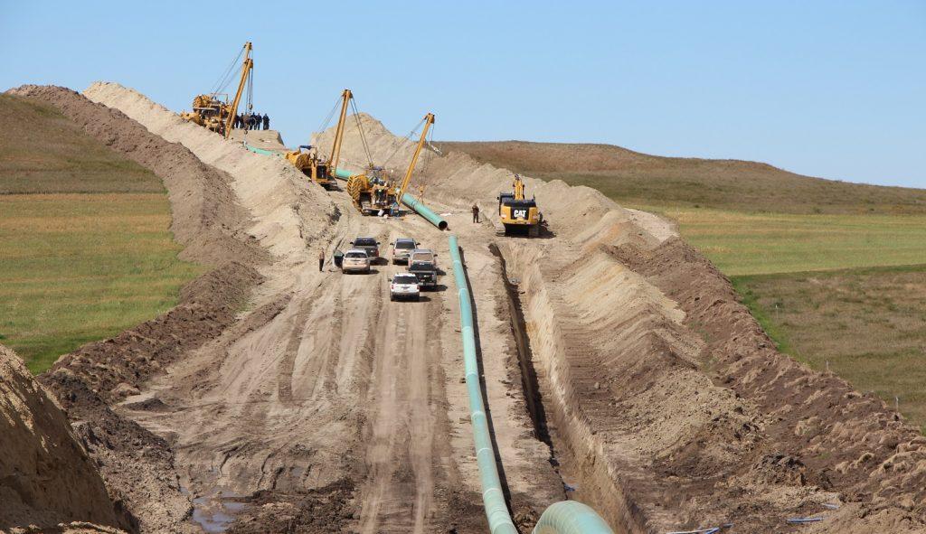 la banca financia el Dakota Access Pipeline