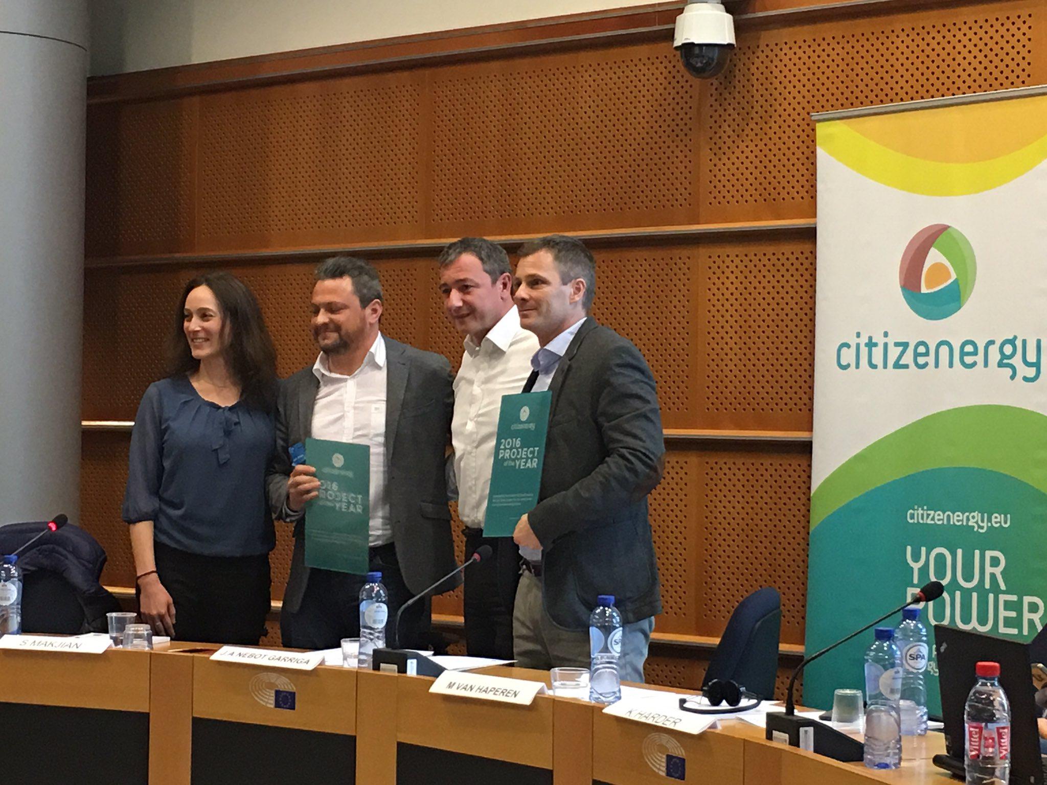Citizenergy Award otorgado a ECrowd!