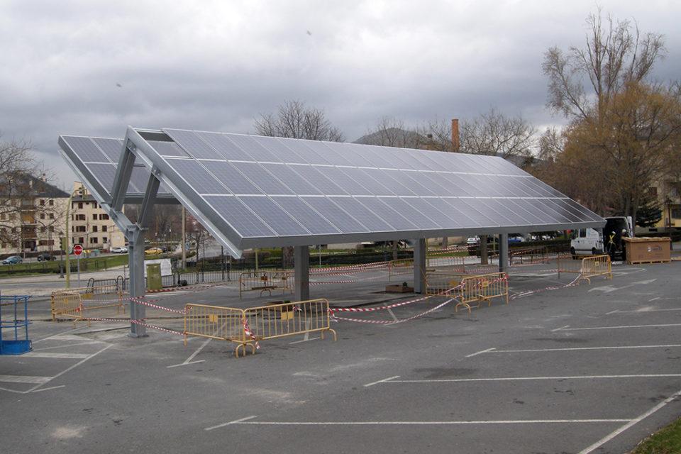 Transformación energética: La electrolinera de La Granja de San Ildefonso