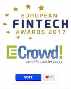 financiamiento sostenible y European Fintech Awards