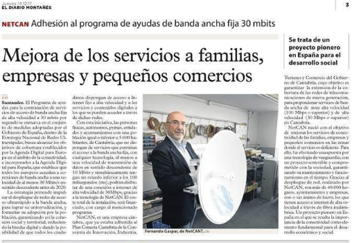 NetCan en El Diario Montañés
