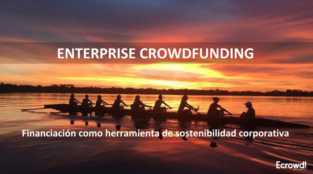 enterprise crowdfunding - herramienta de sostenibilidad